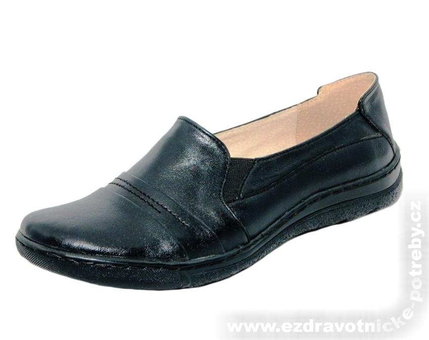 049d8c7766e3 Dámská ortopedická obuv polobotka KB 689-1 černá